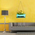 1pc Creative Wrought Iron Hanging Hanging Planter Flower Bucket for Homr Decor