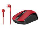 Genius Mobile Package: ECO-Friendly Rechargeable Mouse & Wired Headset Included