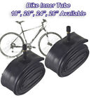 "Inner Bike Tube Bicycle Rubber Tire BMX Schrader Valve 16"" 18"" 20"" 24"" 26"" BN1-2"