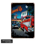 Vintage Man Cave Cafe Garage Metal Tin Sign Wall Decor Retro Art Plate Poster