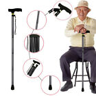 Kyпить Walking Cane Aluminum Metal Stick Adjustable Folding Collapsible Travel Hiking на еВаy.соm