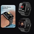 Waterproof Sport Smart Watch Blood Pressure Heart Rate Monitor iPhone Android G