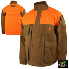 BROWNING PHEASANTS FOREVER UPLAND FIELD JACKET COAT NO LOGO BROWN BLAZE CANVAS