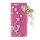 Bling Flip Cases Card Pocket Diamond Crystal Rhinestone Cover Leather For Doogee