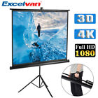 100'' 16:9 4:3 Manual Electric Tripod Motorised Projector Screen Lock Projection