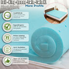 Cooling Gel Memory Foam Bed Mattress Pad Cover Topper Queen King Full Twin XL A+ image