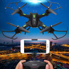 2.4Ghz RC Wifi PFV 720p HD Camera Drone Headless Quadcopter Aircraft 80-100m