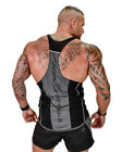 Mens Bodybuilding Stringer Tank Top Y-Back Gym Workout Sports Vest Shirt Clothes