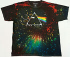 PINK FLOYD T-shirt Dyed/Washed Dark Side Of The Moon Tee Adult Men's New image