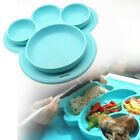 Baby Snack Mat Silicone Non Slip Happy Toddler Placemat Plate Table Suction sili