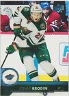 2017-18 Upper Deck Clear Cut #97 Jonas Brodin Wild Hockey FREE SHIP!
