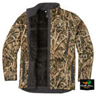 NEW BROWNING WICKED WING HIGH PILE FLEECE JACKET - SHADOW GRASS BLADES CAMO -