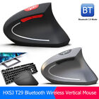 2400DPI Wireless Bluetooth Vertical Ergonomic Optical Mouse for PC Computer lot
