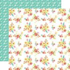 "Easter Flowers - Easter Wishes Double-Sided Cardstock 12""X12"" - 25/pack"