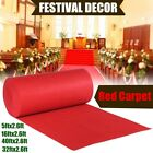 5ft-40ft Red Carpet Wedding Aisle Floor Runner for Hollywood Party Decoration