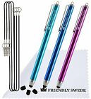 "3pcs Stylus Pen 5.5"" with Replaceable Thin-Tip - Universal Capacitive High Preci"