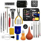 20/21/147pcs Watch Repair Tool Kit Link Spring Bar Remover Watchmaker Back Set image