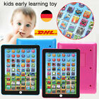 DE Baby Tablet Educational Toys Kids For 1-6 Years Toddler Learning English Gift