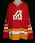 ATLANTA FLAMES RETRO HOCKEY JERSEY REJEAN LEMELIN SEWN NEW ANY NAME