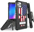 Rugged Tri-Shield Case + Belt Clip for Apple iPhone 11 Pro - Patriotic Series