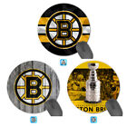 Boston Bruins Round Patterned Mouse Pad Mat Mice Desk Office Decor $4.99 USD on eBay