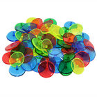 Golf Ball Markers 50 100Pack Plastic Golf Accessories Mixed Colors AU Stock