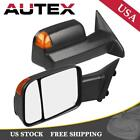 For Dodge Ram 1500 2500 3500 09-15 Heated Power Towing Mirrors Signal LED FlipUp