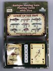 Antique Fishing Lures Playing Cards Deck Lure Of The Past Dad Fishing Gift Idea