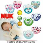 NUK Orthodontic Genius Colour & Happy Days Baby Silicon Soother Pacifier 0-18m