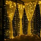 Led Window Curtain String Fairy Star Light For Home Garden Party Wedding Decor