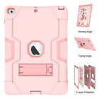 For iPad 7th 10.2 6th 5th Pro 11 Mini 3 Air 2 Hybrid Case Stand Shockproof Cover