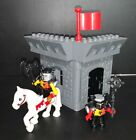 2004 LEGO Duplo Castle# 4777 Knights And Dragon Castle 36 Pieces Incompete Set