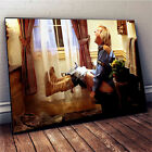 Dumb and Dumber Movie Poster - Harry Dunne Print Funny Bathroom Art (no frame)