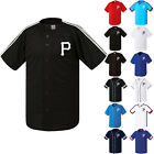 CAPSROK Pittsburgh Pirates Uniform Button Jersey Baseball Team T-Shirts 0113 on Ebay