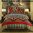 Bohemian Duvet Quilt Cover Set Comforter Cover Set Twin Full Queen King Size