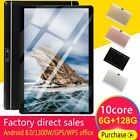 Android 8.0 10 Deca Core Dual SIM Tablet 10.1 WIFI 6 128G Phablet Pad Dual Card