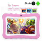 """7"""" Tablet PC 8GB Android 4.4 Dual Camera Bluetooth WiFi Quad Core For Kids Gift"""