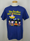 The Beatles Yellow Submarine T-shirt Legendary Rock Band Graphic Tee Blue NWT image