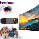 Smart 4K Mini Projector Android WiFi 1080P Home Cinema HDMI VGA SD HDMI TV