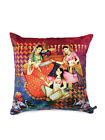 Multi Colour Ethnic Print Waist Throw Pillow Case Sofa Home Décor Set Of 2