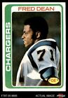 1978 Topps #217 Fred Dean Chargers EX/MT $6.75 USD on eBay