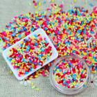 DIY Polymer Colorful Clay Fake Candy Sweet Sugar Sprinkles All Beauty Decor 100g image