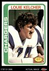 1978 Topps #360 Louie Kelcher Chargers EX/MT $1.15 USD on eBay