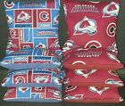 Set of 8 Colorado Avalanche hockey Cornhole Bags ***FREE SHIPPING*** $28.99 USD on eBay