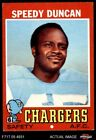 1971 Topps #148 Speedy Duncan Chargers EX $1.0 USD on eBay