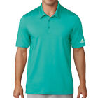 Adidas Men's Climalite Jacquard Solid Polo Golf Shirt NEW