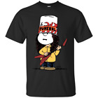 Peanutty Buckethead Charlie Brown Cosplays Buckethead Funny Black T-Shirt