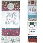 Cooksmart Christmas Tea Towels, Set of 3, 100% Cotton, Gift, Xmas, Dry Cloths