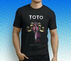 New Popular TOTO Rock Band Men's Black T-Shirt Size S-3XL image