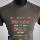 James Bond Filet von Soul Live und Let die Retro Film T-Shirt 007 Cool 70's